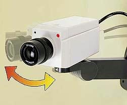 SIMULATED SECURITY MOTION CAMERA
