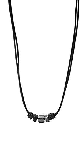 FOSSIL-Kette-JF00501797-Leder-schwarz