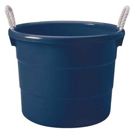 HOMZ 0402GRRB.08 Storage Tub w/ Rope Handles,18 Gal,Navy (18 Gallon Storage Tubs compare prices)