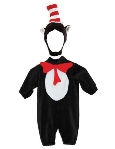 Baby-Toddler-Costume Cat In Hat Toddler Costume 12-18 Mos Halloween Costume