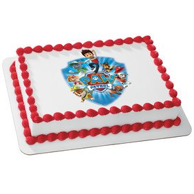 Whimsical Practicality Paw Patrol Yelp for Help Edible Cake Icing Image Kit for 1/4 Sheet Cake