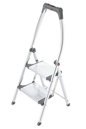 HAILO-4302-201-Living-Step-Plus-Deluxe-Klapptritt-mit-2-Stahl-Stufen