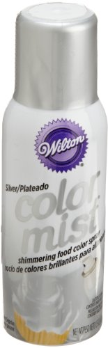 Cake Decorating Airbrush Wilton : Wilton Silver Color Mist Food Coloring Airbrush Cake ...
