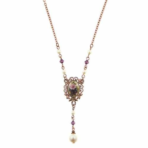 Manor House Victorian Y Shaped Necklace