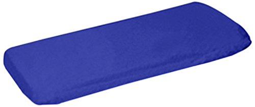 aBaby Organic Fitted Crib Sheet, Royal
