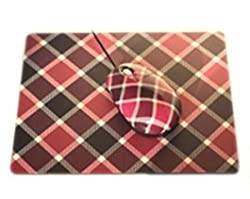 KolorFish M21 Optical Designer USB Mouse & Mouse Pad Combo