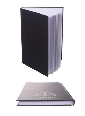 Artway A4 Studio Sketchbook / Album per schizzi con copertina rigida. 112 pagine, 170 g/mq carta grossa da disegno vergine acid-free.