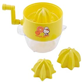 Hello Kitty Juicer: Yellow