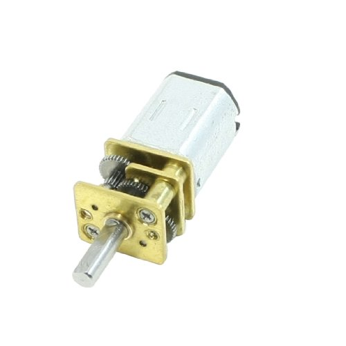 Dc 6V 100Rpm 2 Pin Terminals Rectangle Permanent Magnet Electric Geared Motor
