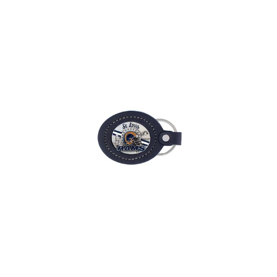 St. Louis Rams NFL Large Leather Key Ring on PopScreen e73ac75ba