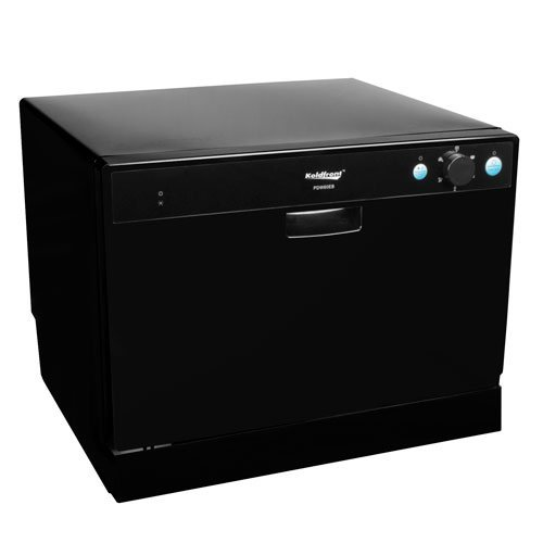 Countertop Dishwasher Premium Portable Stainless Steel Black Electric Stand Alone Compact Design (Portable Dishwasher Maytag compare prices)