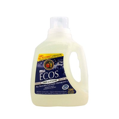Earth Friendly Ecos Ultra All Natural Laundry Detergent - Free And Clear - 100 Fl Oz