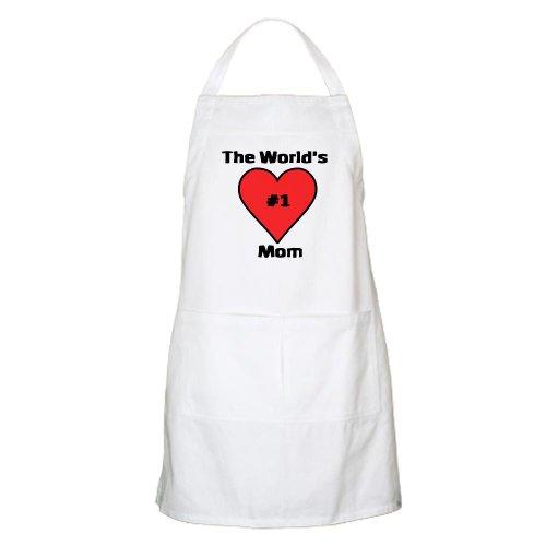 Cafepress Worlds Number 1 Greatest Mom-Bbq Apron - Standard