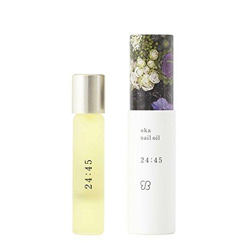 ウカ(uka)ネイルオイル24:45<リラックスできる香り> 5ml
