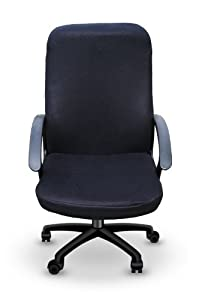 Black Office Desk Chair Cover (The Chirt)