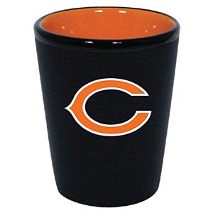 Chicago Bears 1.5 Oz Two-Tone Ceramic Shot Glass