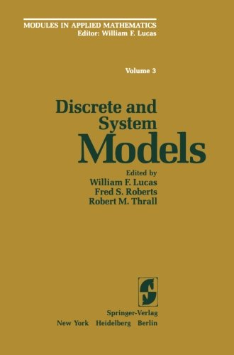 Discrete and System Models: Volume 3: Discrete and System Models (World Crop Series)