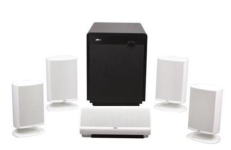 Jamo Home Cinema System With 4 A340 Satellites,1 Sub300, 1 A3 Cen4 Speaker
