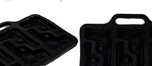 SMO HandGun Pistol Gel Parti Ice Bar-Cube Jelly Mold chocolat en silicone Moule Mak