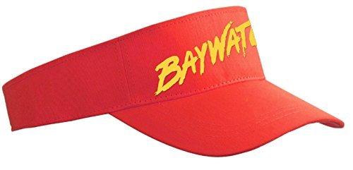 casquette-visiere-baywatch-alerte-a-malibu-rouge-taille-unique