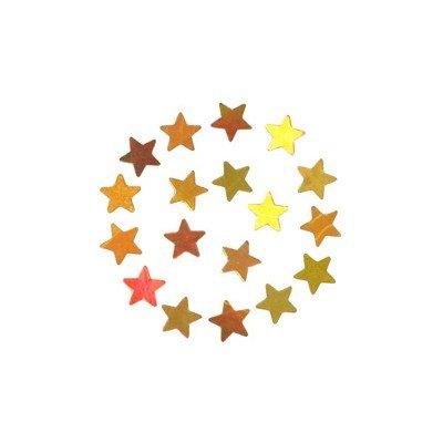 shu shu キラキラ オーロラゴールド スター 3mm