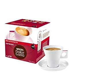 Nescafé Dolce Gusto Espresso Decaffeinato, 16 Capsules