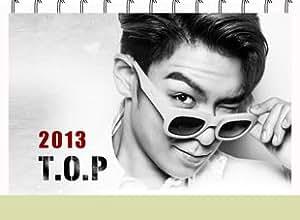 Kpop bigbang T.O.P Calendar 2013