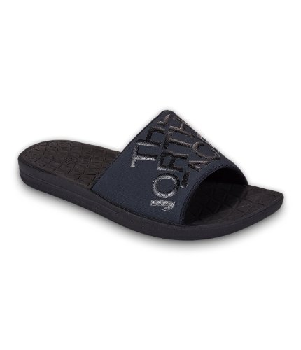 Mens The North Face Base Camp Lite Slide Sandal Tnf Black/Tnf Black Size 14