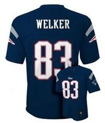 Wes Welker NFL Youth Jersey: Home Navy #83 New England Patriots Jersey at Amazon.com