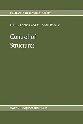 Control of Structures (Mechanics of Elastic Stability)
