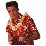 Paper House M-0199E 6-Pack Die Cut Refrigerator Magnet, Elvis-Blue Hawaii