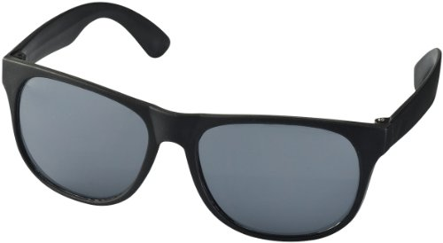 """Retro Sonnenbrille - UV 400 zertifiziert - Sonnenbrille im """"Nerdlook"""" (schwarz)"""