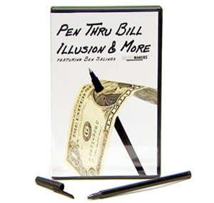 Pen Thru Bill Illusion & More Featuring Ben Salinas and Rob Stiff - DVD and Pen Included!