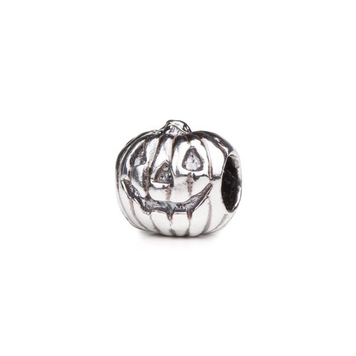 Authentic Novobeads Sterling Silver 1429 Jack O' Lantern, Silver