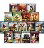 img - for The Puppy Place Set, Books 1-16: Goldie, Snowball, Shadow, Rascal, Buddy, Flash, Scout, Patches, Noodle, Pugsley, Princess, Maggie and Max, Cody, Honey, Bear, and Lucky (16-Book Set) book / textbook / text book
