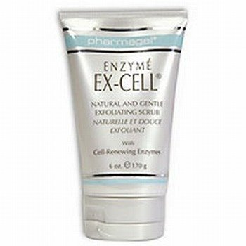 Pharmagel Enzyme Ex-Cell Facial Scrub, 6 Ounce