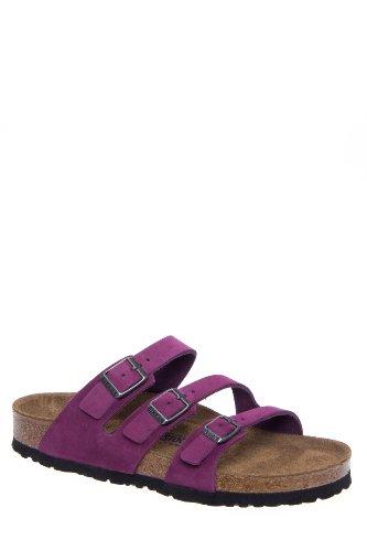 Birkenstock Women's Orlando Soft Footbed Multi Strap Comfort Flat Slide Sandal