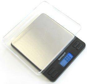 Balance de cuisine multifonctionnelle digitale, plateau inox, haute précision 2000g x 0.1g