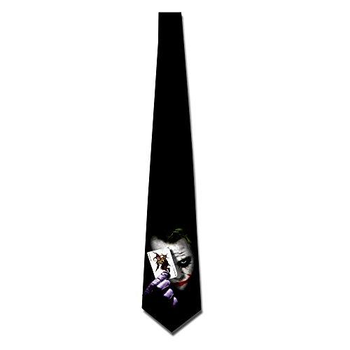 KIPoint Mens Custome Joker The Dark Knight Skinny Ties (Joker Customes)