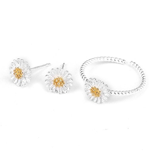 Phenovo Women's Festival Daisy Flower Ear Studs
