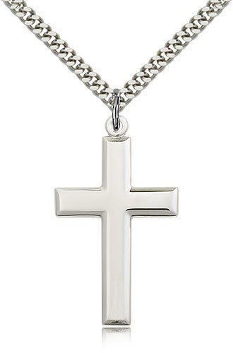 Cross Pendant, Sterling Silver