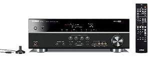 Yamaha RX-V371 Ampli-tuner Audio Vidéo 3D Ready 5 canaux HDMI Noir