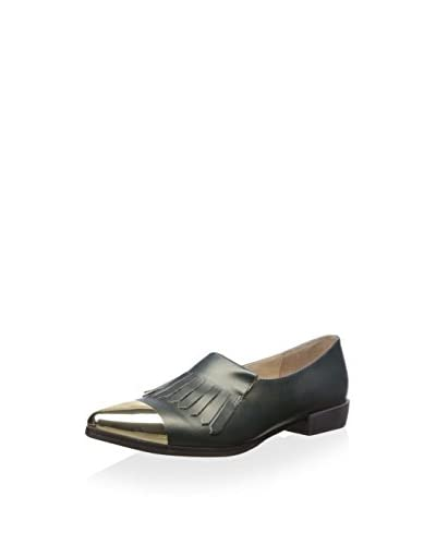 ALL BLACK Women's Dark Kilty Flat