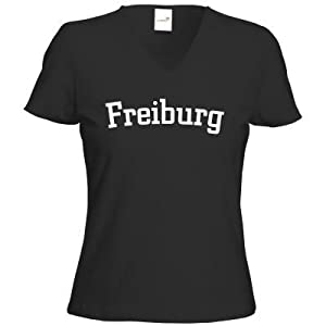 getshirts - Best of - T-Shirt Damen V-Neck - City - Freiburg