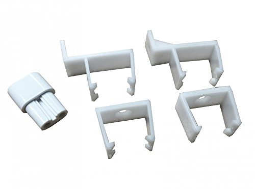 Greenbrook T5 Mounting Bracket clips for T5 Fluorescent fittings (SLL CNJ)