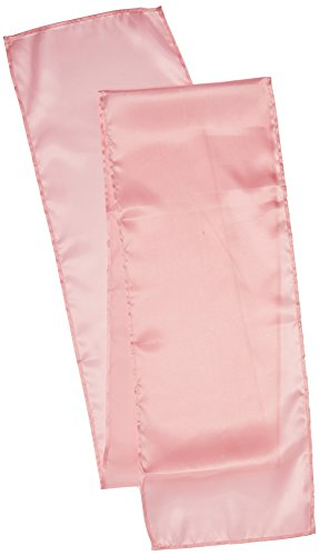 LinenTablecloth 14 x 108-Inch Satin Table Runner Pink (Table Runner Pink compare prices)