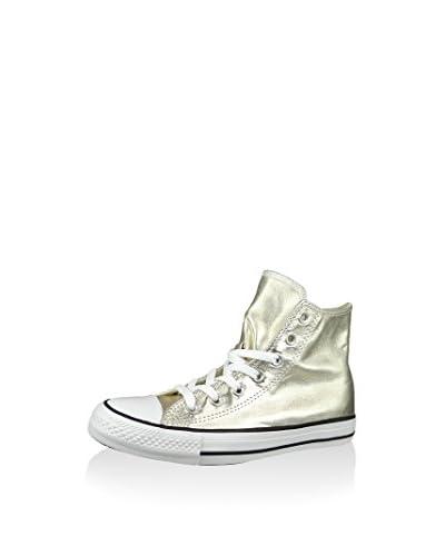 Converse Zapatillas abotinadas Chuck Taylor All Star Dorado