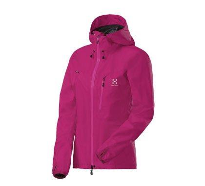 Haglöfs Damen Regenjacke Lim II Q Jacket, Cosmicpink, M, 602030
