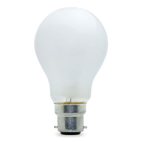10 X 60 WATT PEARL LIGHT BULB BAYONET CAP