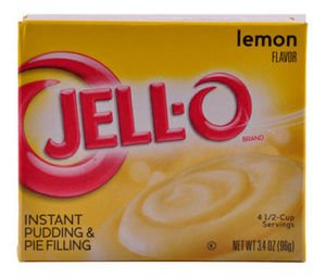 Jell-O Lemon Pudding and Pie Filling 96g